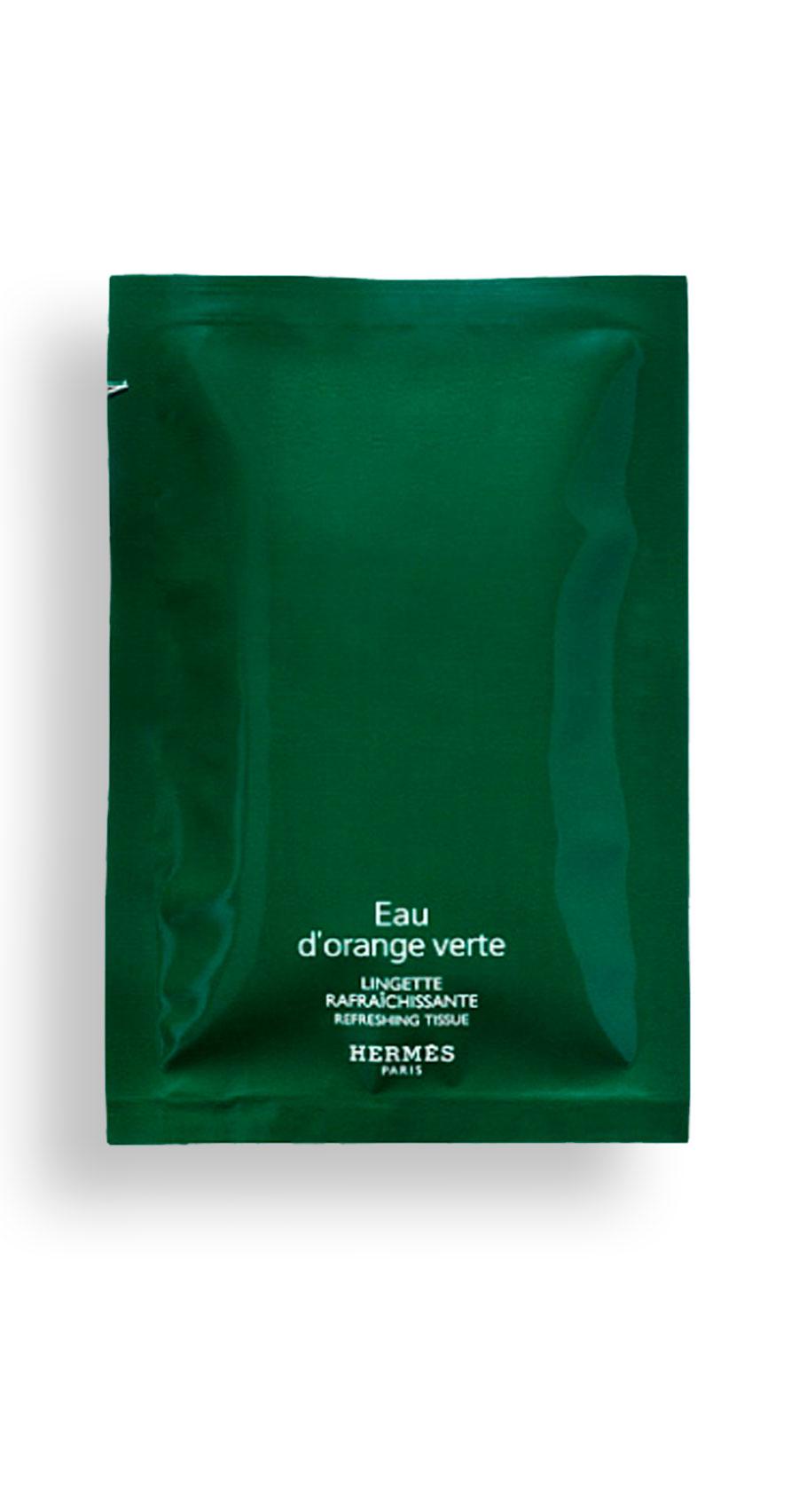 Hermès - Eau d'orange verte - Lingettes rafraîchissantes