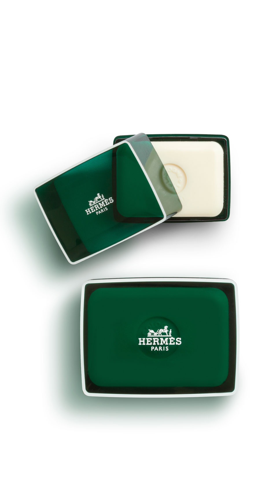 Hermès - Eau d'orange verte - Savon parfumé 150 gr et 100 gr