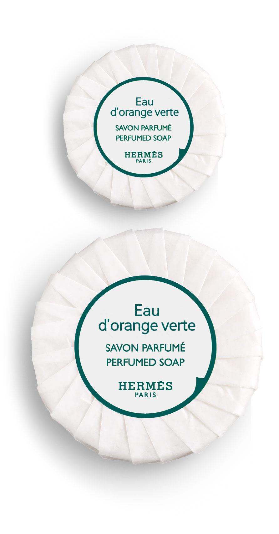Hermès - Eau d'orange verte - Savon parfumé 50 gr et 25 gr
