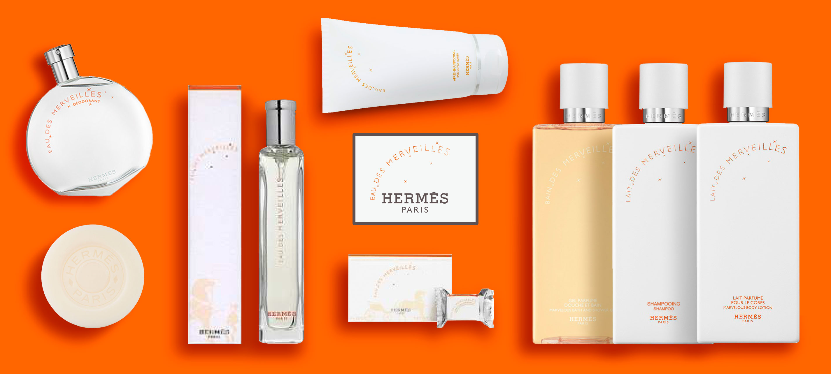 Hermès - Eau des merveilles - Collection