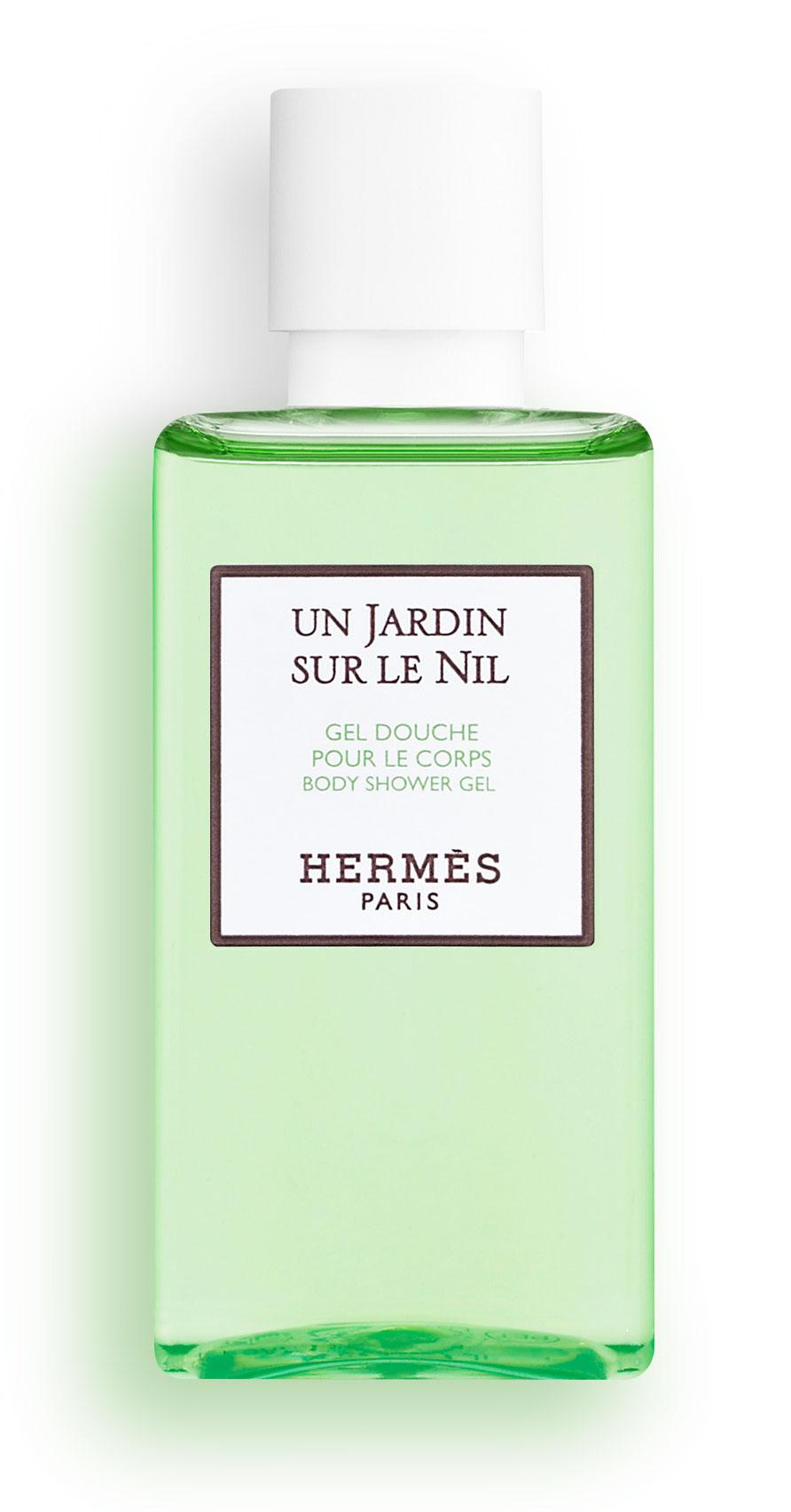 Hermès - Un Jardin sur le Nil - Gel douche parfumé pour le corps 40 ml.