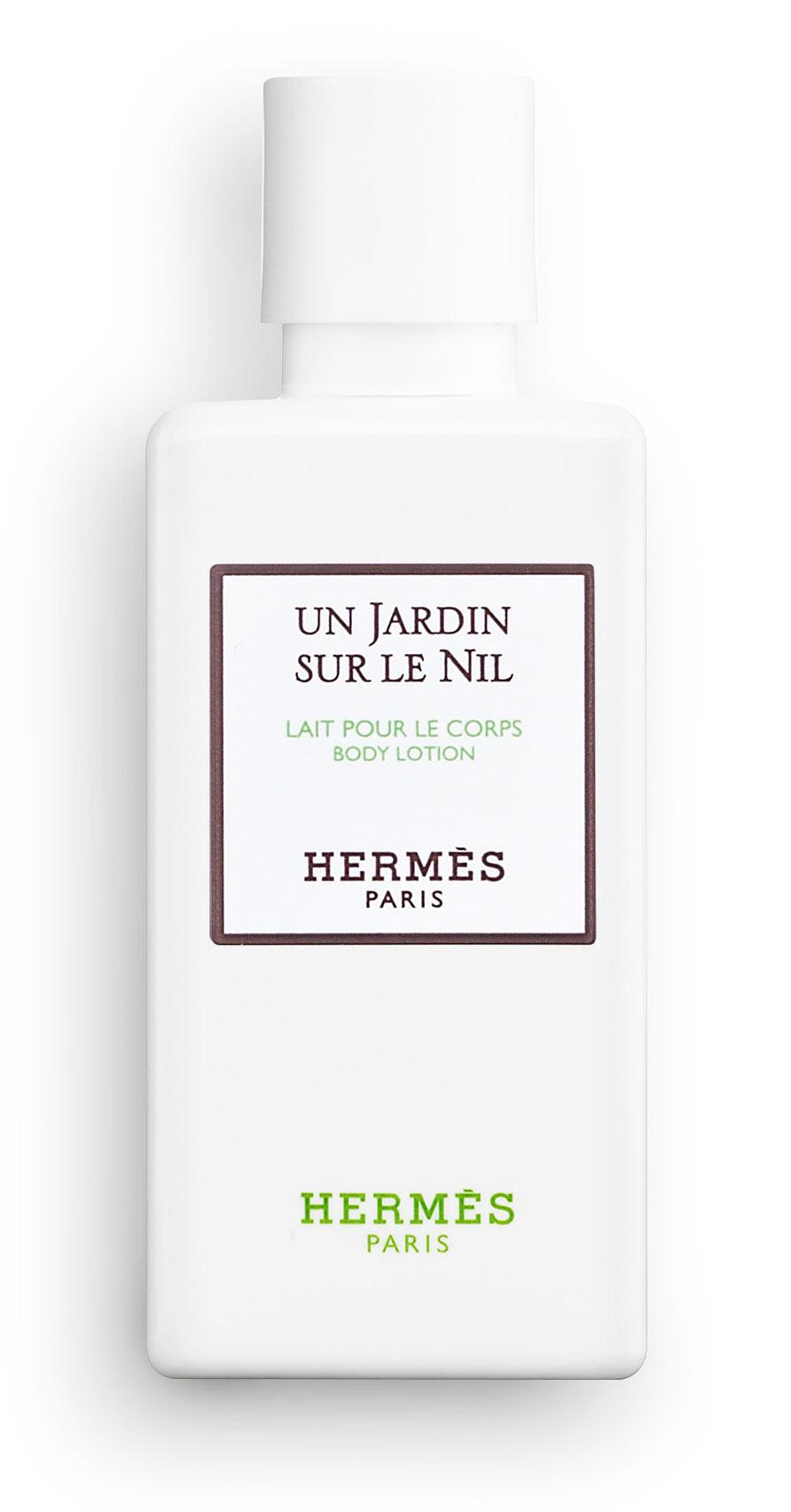Hermès - Un Jardin sur le Nil - Lait parfumé pour le corps 40 ml.