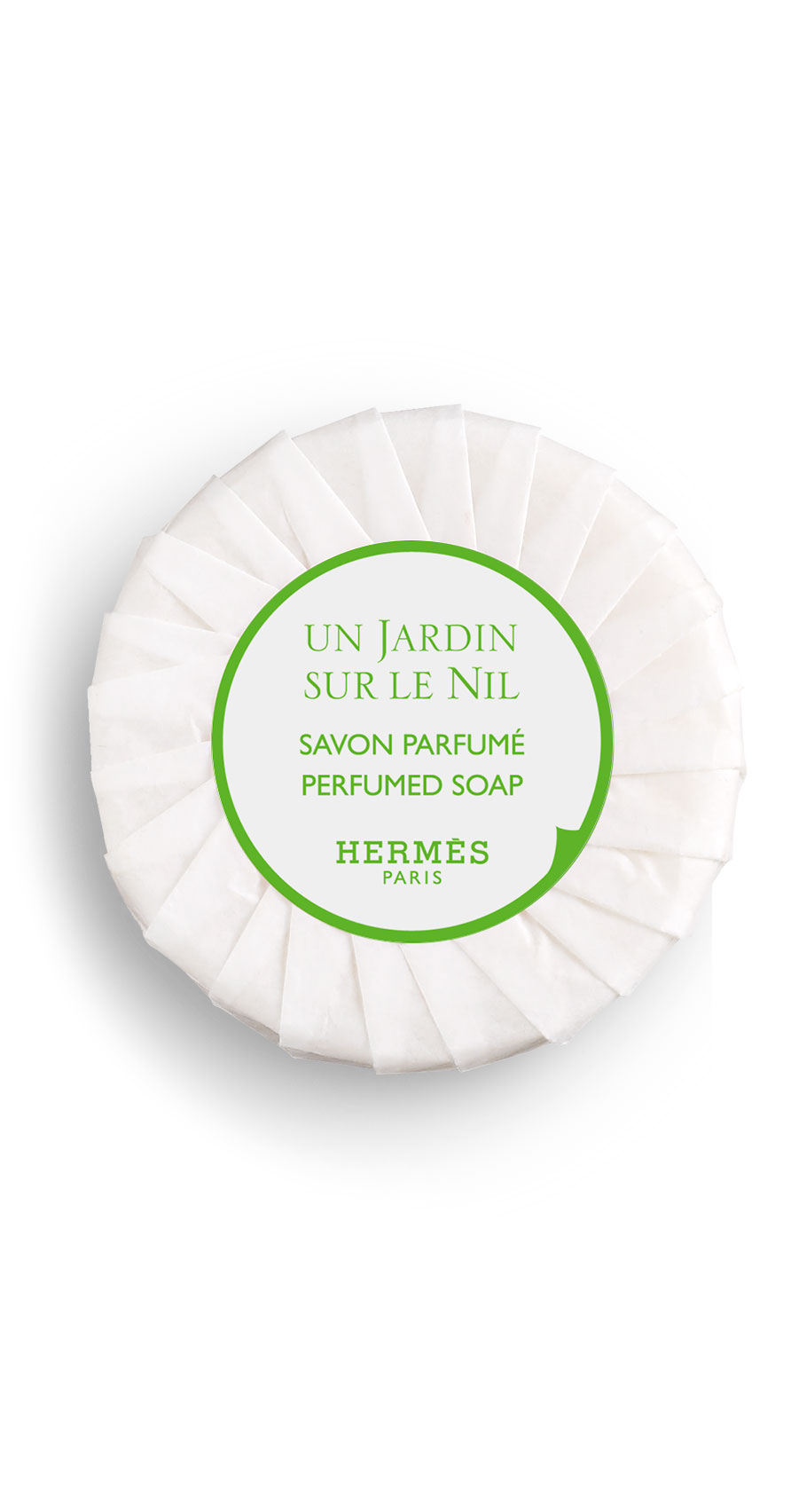 Hermès - Un Jardin sur le Nil - Savon parfumé 50 gr et 25 gr.
