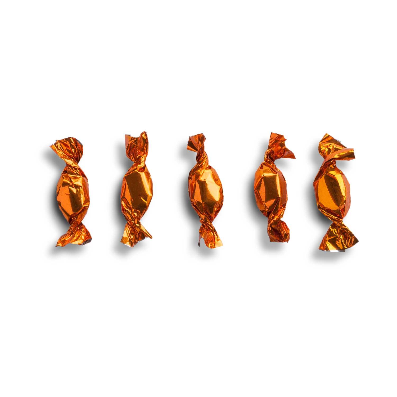 Bonbons emballage métallique