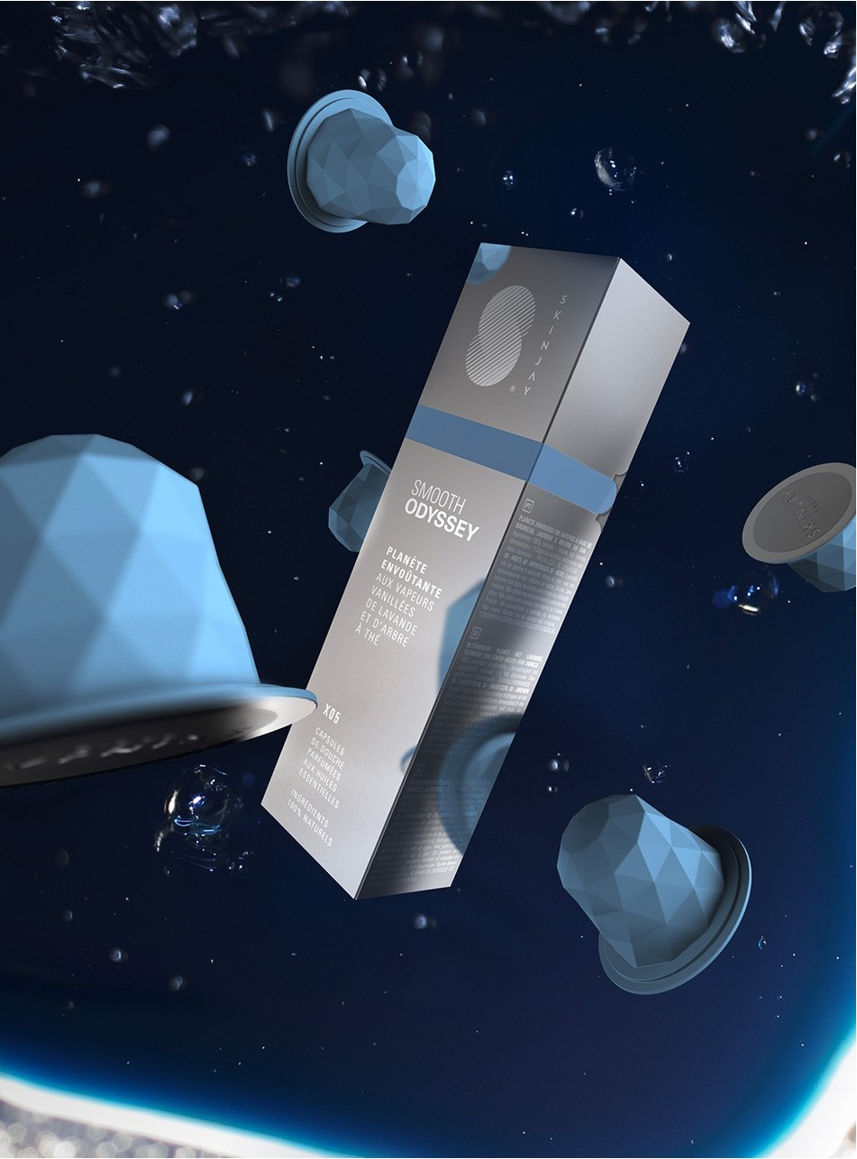 Capsules Skinjay Smooth Odyssey et son packaging